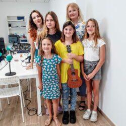 Интервью в школе радио Русская Волна